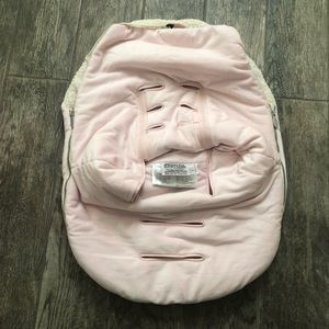 Pink Sherpa JJ Cole bundle me for car seats